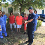 Snead Eye Group Fire Extinguisher Training