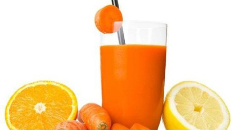 Carrot-Orange-Grapefruit Juice