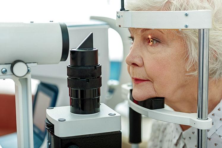 senior eye screening