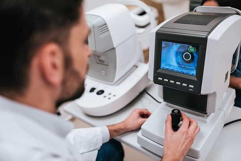 iwellness retinal scan