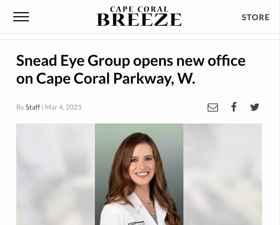 Cape Coral office grand opening in Cape Coral Breeze newspaper