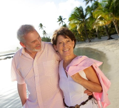 Ophthalmologist eyecare services couple