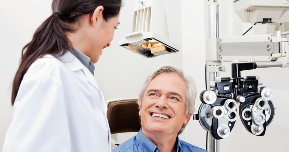 eye doctor patients