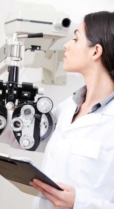 eye exam optometrist
